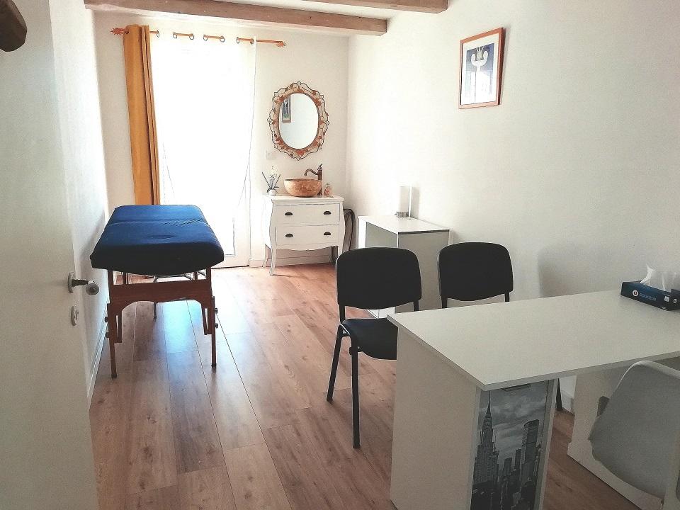 Salle à louer pour prestation de soins de bien-être au Centre Yoga Elise-ma à Vidauban